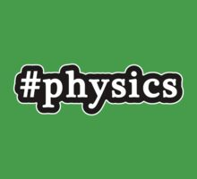 Physics - Hashtag - Black & White One Piece - Short Sleeve