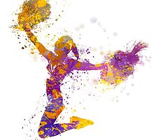 young woman cheerleader 03 by paulrommer