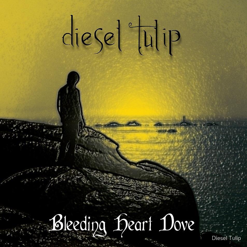 Bleeding Heart Dove by Diesel Tulip