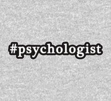 Psychologist - Hashtag - Black & White One Piece - Long Sleeve