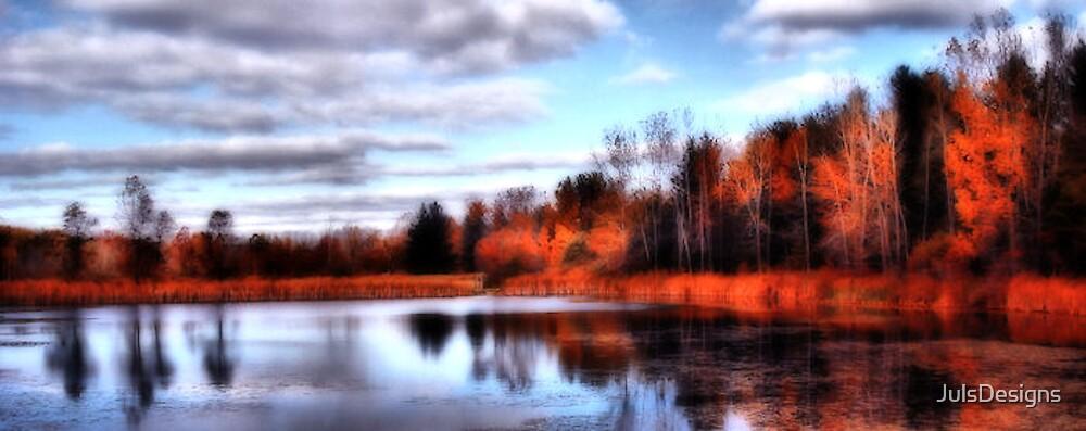 Fall Reflections  by JulsDesigns