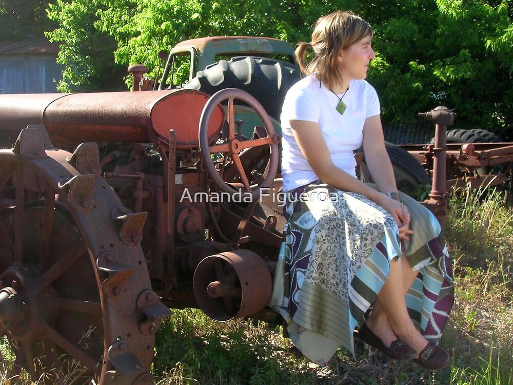 Tractor Grave Yard by Amanda Figueroa