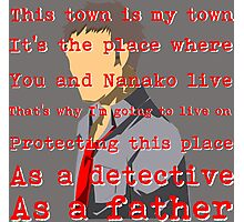 Detective and a Father Photographic Print