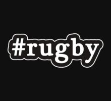 Rugby - Hashtag - Black & White Kids Clothes