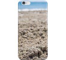 Macro Photography Sand Beach iPhone Case/Skin