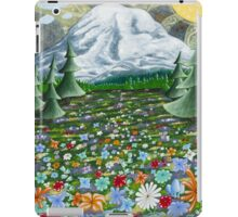 Mazama Ridge Mount Rainier  iPad Case/Skin
