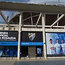La Rosaleda Stadium, Malaga by wiggyofipswich