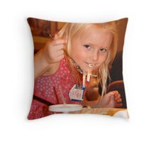 Noodles Throw Pillow