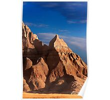 Sunrise over Badlands National Park .4 Poster