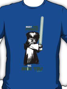 May the Force Be Shih Tzu T-Shirt