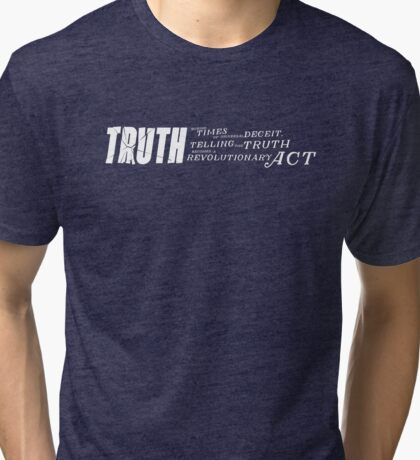 Truth Revolution Tri-blend T-Shirt