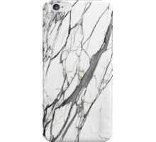 White marble iphone case iPhone Case/Skin