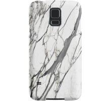 White marble iphone case Samsung Galaxy Case/Skin