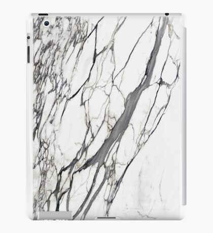 White marble iphone case iPad Case/Skin