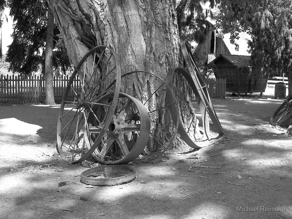 Wheel Upon Wheel by Michael Reimann