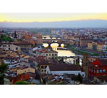 All About Italy. Piece 16 - Florence Photographic Print
