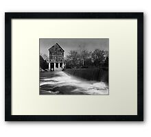 Browns Mill on the Stones River Framed Print