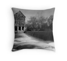 Browns Mill on the Stones River Throw Pillow