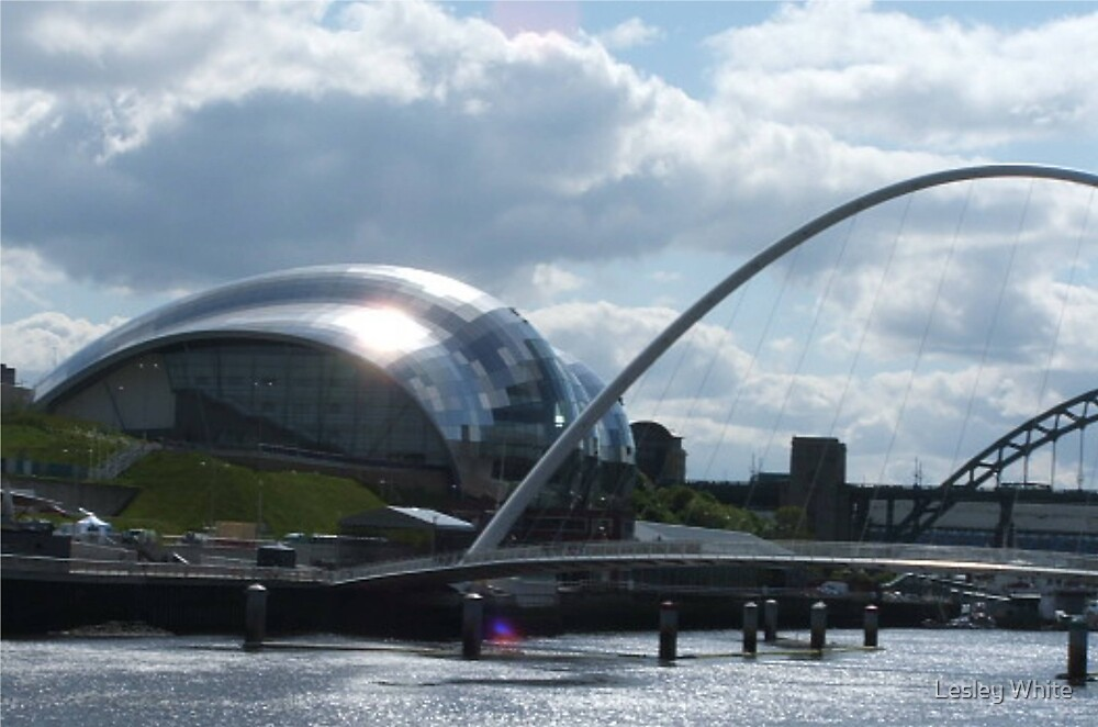 Shine On The Tyne by Lesley White