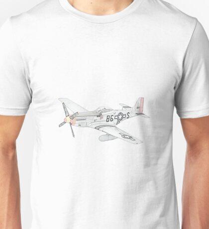 North American Aviation P-51 Mustang Unisex T-Shirt