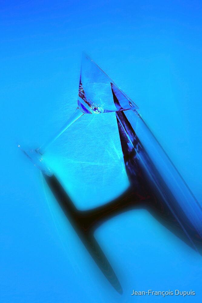 Blue martini by Jean-François Dupuis