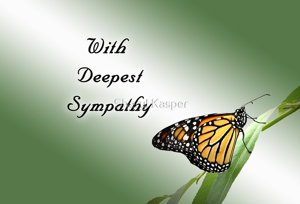 With Deepest Sympathy by Sheryl Kasper