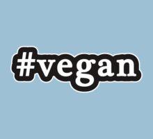 Vegan - Hashtag - Black & White Kids Clothes