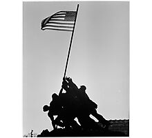Iwo Jima Memorial in Arlington VA Photographic Print