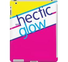 Hectic Glow Poster iPad Case/Skin