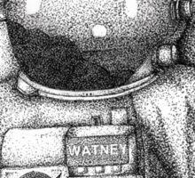 The Martian Sticker