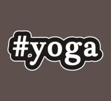 Yoga - Hashtag - Black & White Kids Clothes