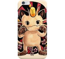 Meowth  iPhone Case/Skin