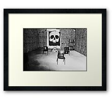 A Sleepers Dream In The Tomb Of The Unknown Human Framed Print