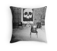 A Sleepers Dream In The Tomb Of The Unknown Human Throw Pillow