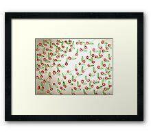 christmas in norway - pattern work Framed Print