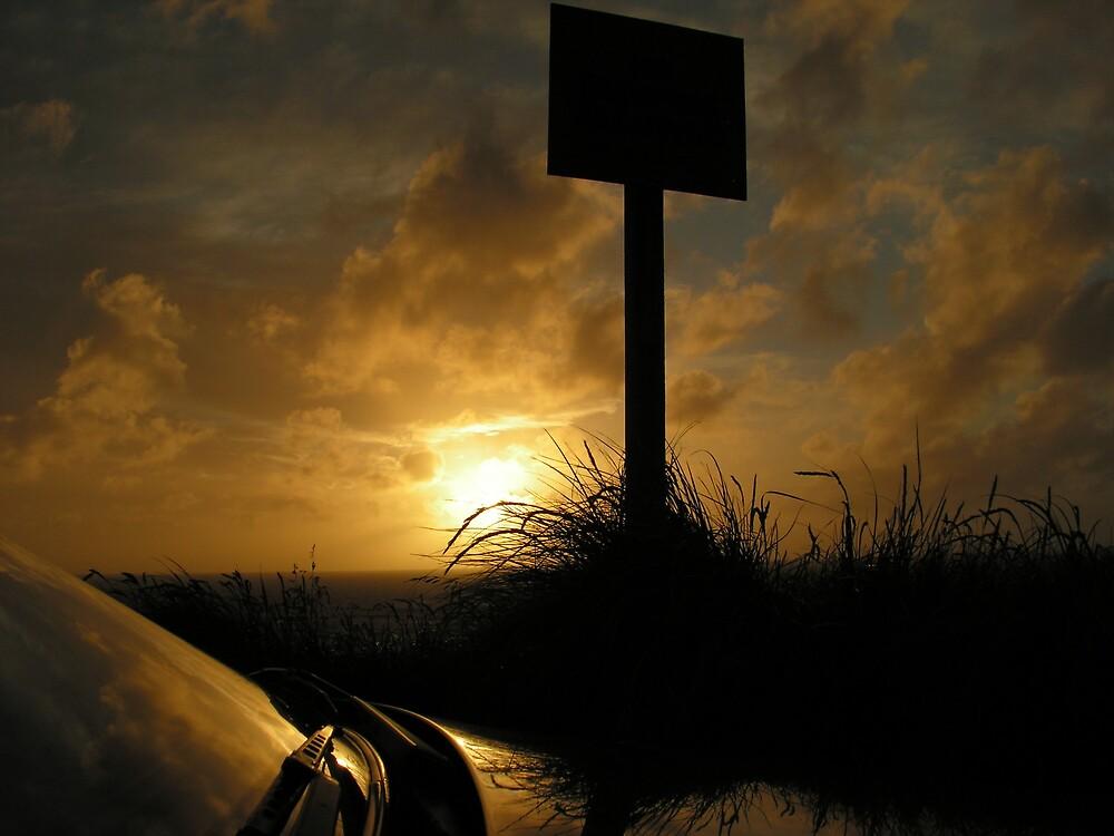 Parking up at sunset by jillandian