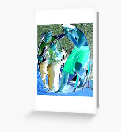 Music in the  Afternoon Greeting Card
