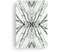 White marble butterfly phone case Canvas Print