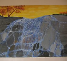 Waterfalling by Frances DiBono