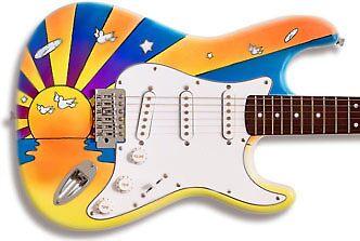 Guitar Design by Retrograde Designs
