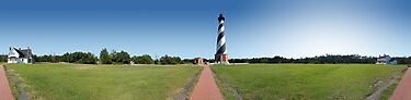 Hatteras Lighthouse 360 Panorama by digerati