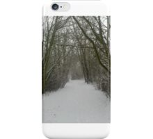Winter Woodland Wonderland iPhone Case/Skin