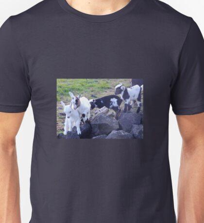 Kids at Play (Goatlings) Unisex T-Shirt