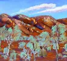West of Mt.Isa #2  by Virginia McGowan