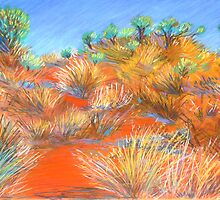 Grasses at Katatjuta by Virginia McGowan