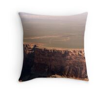Grand Canyon and Painted Desert Throw Pillow