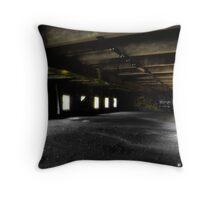 Surreal Warehouse Throw Pillow