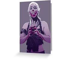 Daenerys Heart Greeting Card
