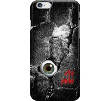 The walls have eyes 'eye fone' case iPhone Case/Skin