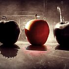 Red Apple by Sandra  Aguirre